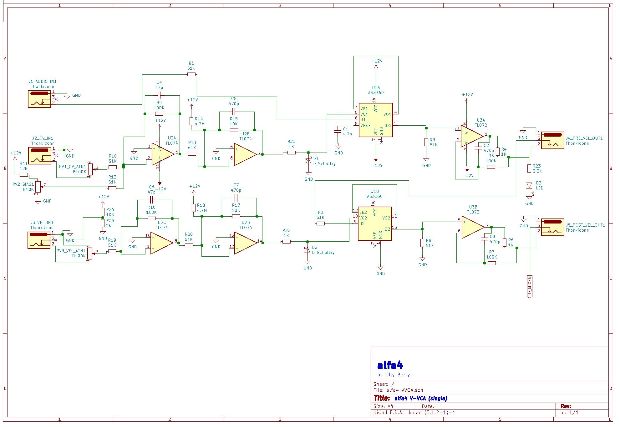 alfa4 VCA Prototyping pt.1 - Modular Mission on